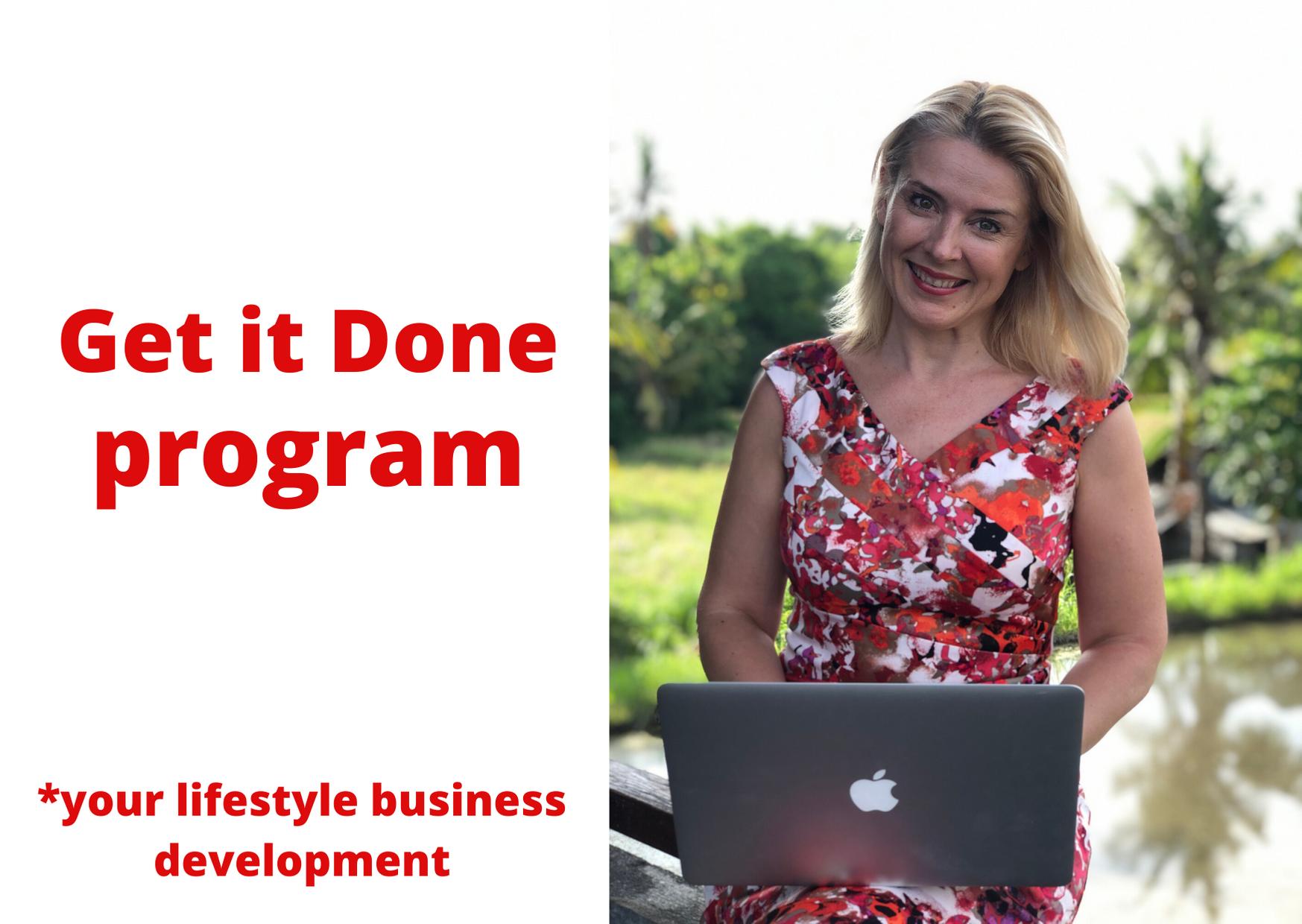 Get it Done program - Inga Ezera