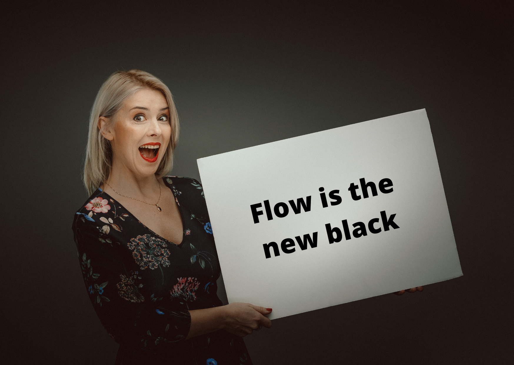 Inga Ezera Flow is the new black